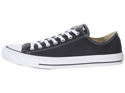 Converse All Star Black Low Top Leather Men Shoes