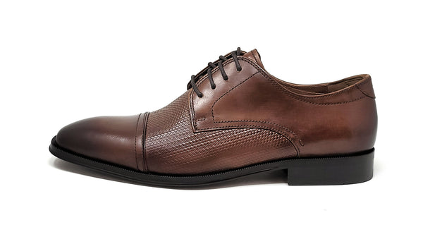 Florsheim Belfast Cap Toe Oxford Cognac 3E Wide Men's Shoes