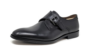 Florsheim Belfast Plain Toe Monk Black Men's Slip-On Shoes
