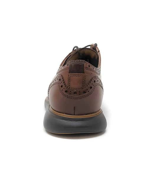 Florsheim Fuel Wingtip OX Brown/Black Men's  Shoes
