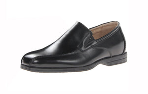 Florsheim Reveal Bike Slip JR Uniform Loafer Black Little Kids/Big Kids Slip-On Shoes