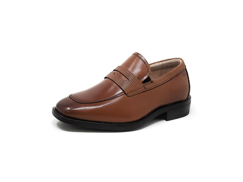 Florsheim Postino Penny Cognac Little Kids/Big Kids Slip-On Shoes