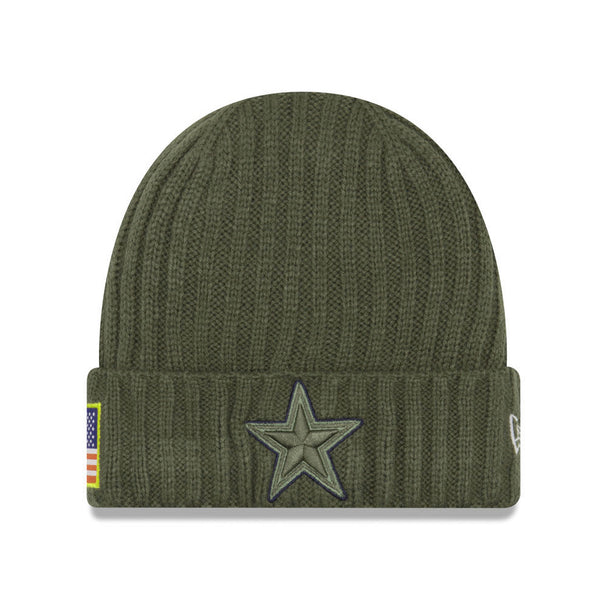 New Era Dallas Cowboys STS Green/Green Men Beanie One Size