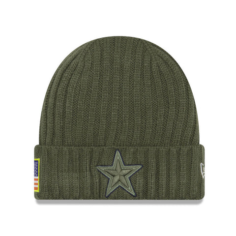 New Era Dallas Cowboys STS Green/Green Unisex Beanie One Size