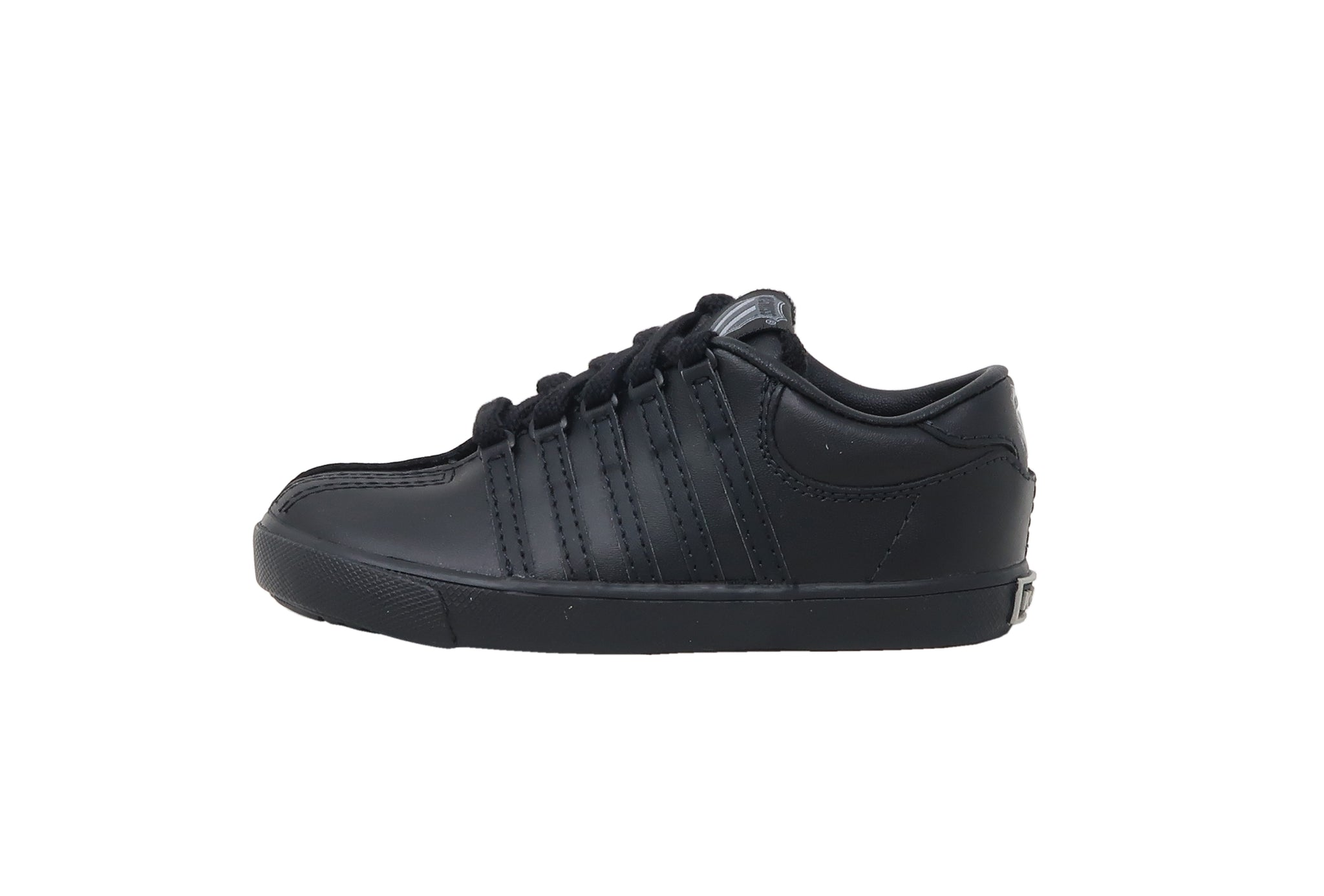 K-Swiss Classic Black/Black Toddler Shoes