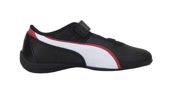 Puma Dift Cat 6 L V Black/Hi Risk Red Kids Shoes