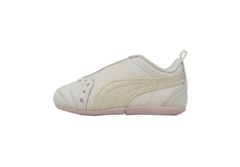 Puma Sela Diamond True White/Hot Pink Toddler Shoes
