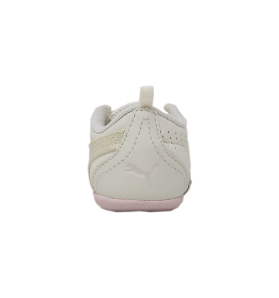 Puma Sela Diamond True White/Hot Pink Infant Shoes