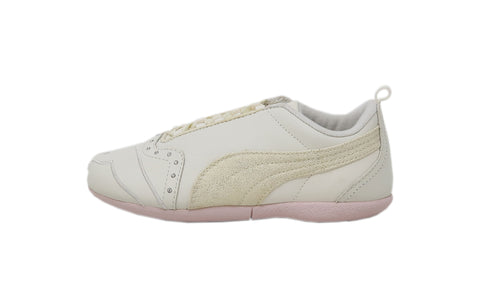 Puma Sela Diamonds True White/Hot Pink Kids Shoes