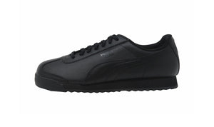 Puma Black/Black Roma Basic Big Kids Shoes