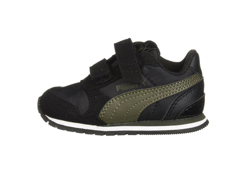 Puma ST Runner v2 NL V Black/Forest Night Toddler Shoes