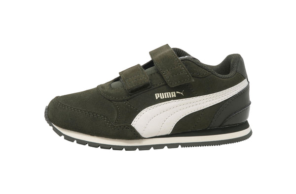 Puma ST Runner V2 SD Forest Green Kids Shoes