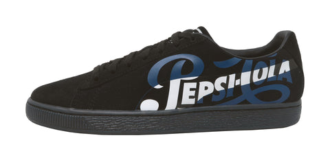 Puma Suede Classic x Pepsi Puma Black/Puma Silver Men Shoes