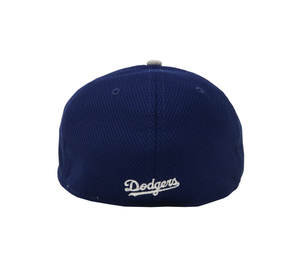 "New Era 39Thirty Los Angeles Dodgers ""D"" Dia Era Royal/Grey Men Cap"
