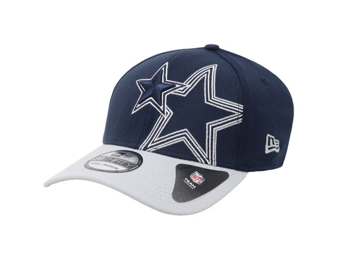 New Era 39Thirty Dallas Cowboys Outliner Navy/Grey Men Cap