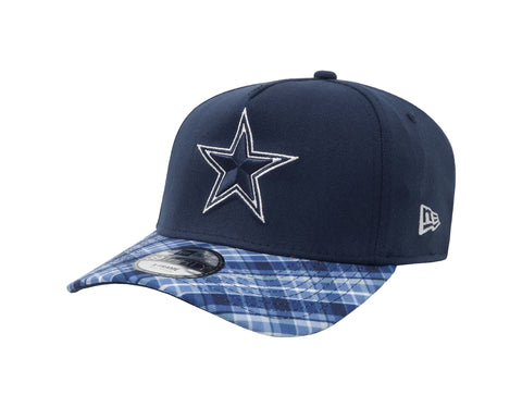 New Era 39Thirty Dallas Cowboys Plaid Pop Navy/Navy Men Cap