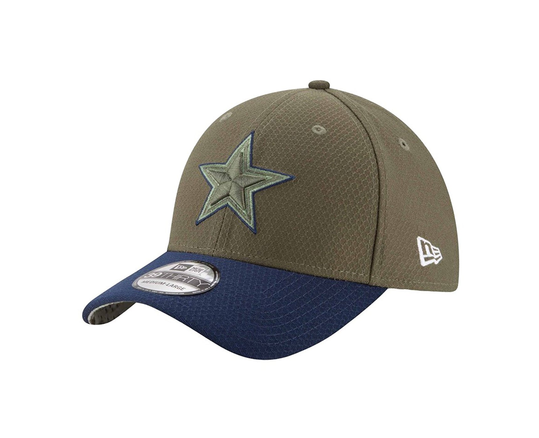 New Era 39Thirty Dallas Cowboys STS 2017 Green/Navy Men Cap
