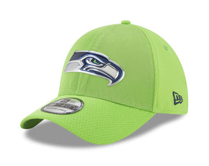 New Era 39Thirty Seattle Seahawks Rush17 Light Green/Light Green Men Cap