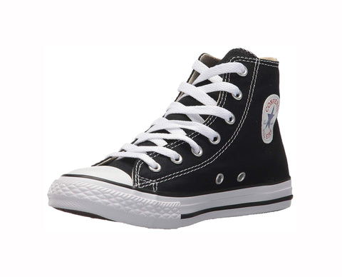 Converse All Star Black Hi Top Kids Shoes