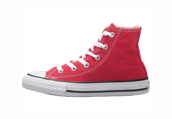 Converse All Stars Hi Top Red Little Kids Shoes
