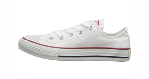Converse All Stars Optical White Low Top Kids Shoes