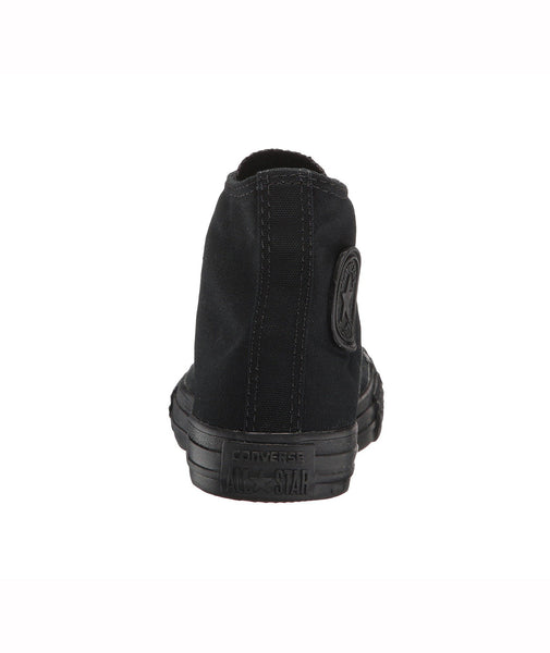 Converse All Star Black Monochrome Hi Top Kids Shoes