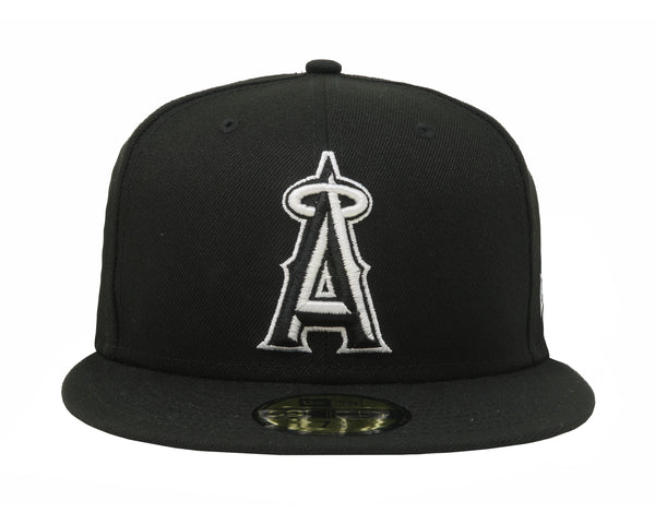 New Era 59Fifty Black/Black Los Angeles Angels Men Cap