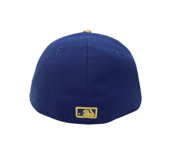 New Era MLB 59Fifty Low Profile Kansas City Royals Royal Blue/Gold Men Hat
