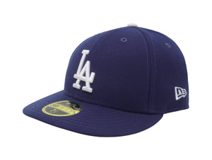 New Era MLB 59Fifty Low Profile Los Angeles Dodgers Royal Blue/White Men Hat