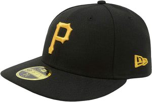New Era 59Fifty Pittsburgh Pirates Low Profile Black/Black/Gold Men Cap