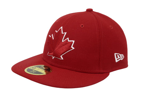 New Era MLB 59Fifty Low Profile Toronto Blue Jays Red Men Hat