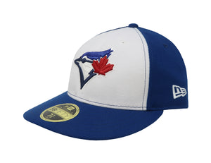 New Era MLB 59Fifty Low Profile Toronto Blue Jays White/Royal Blue Men Hat