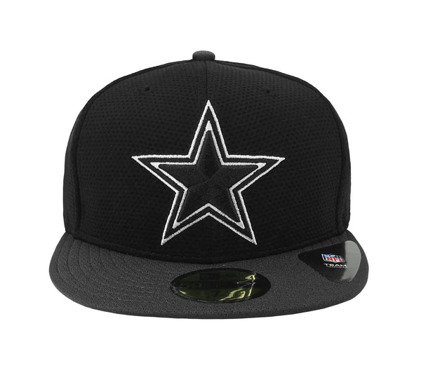 New Era Cap 59Fifty Dallas Cowboys Team Basic Black Charcoal Men Hat