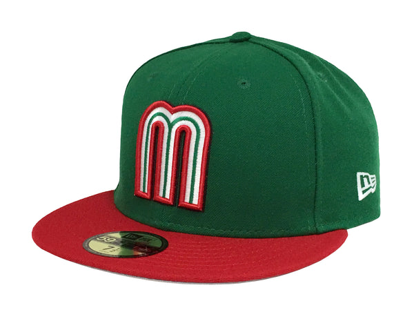 New Era 59Fifty World Baseball Classic Mexico Red/Green Men Cap