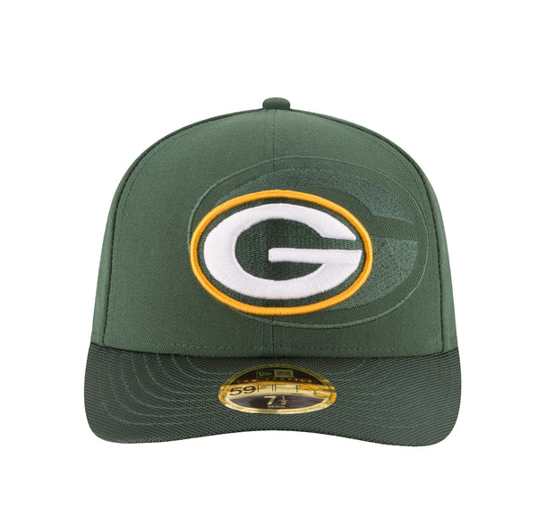 New Era 59Fifty Green Bay Packers Low Profile Green/Green Men Cap
