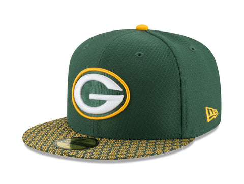 New Era 59Fifty Green Bay Packers SL17 Green/Gold Men Cap
