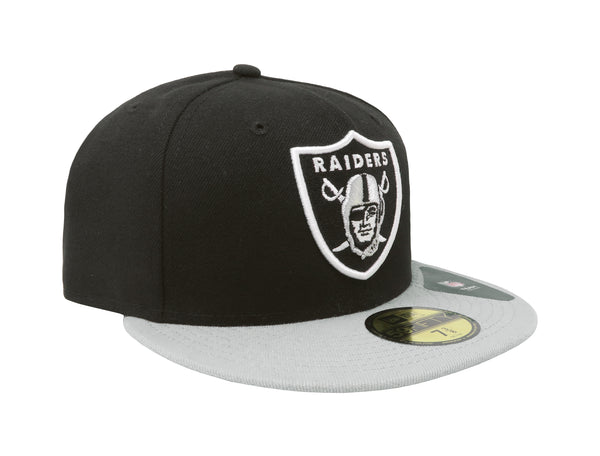 New Era 59Fifty Oakland Raiders Black/Grey Men Cap