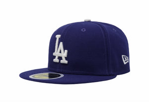 New Era 59Fifty Los Angeles Dodgers White/Royal Kids Cap