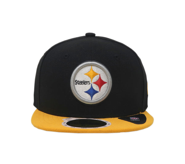 New Era 59Fifty Pittsburgh Steelers Black/Gold Kids Cap