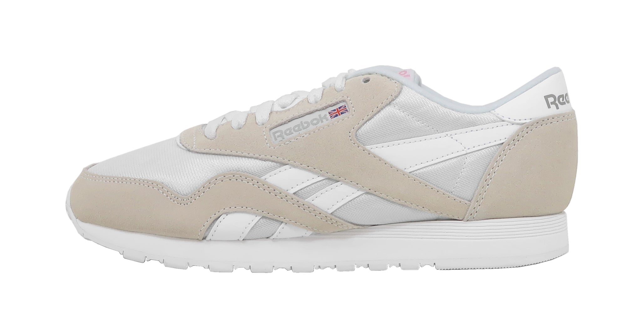 Reebok Classic White/Light Grey Women's Shoes