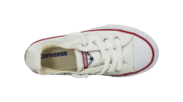 Converse All Star White Shoreline Slip On Kids Shoes