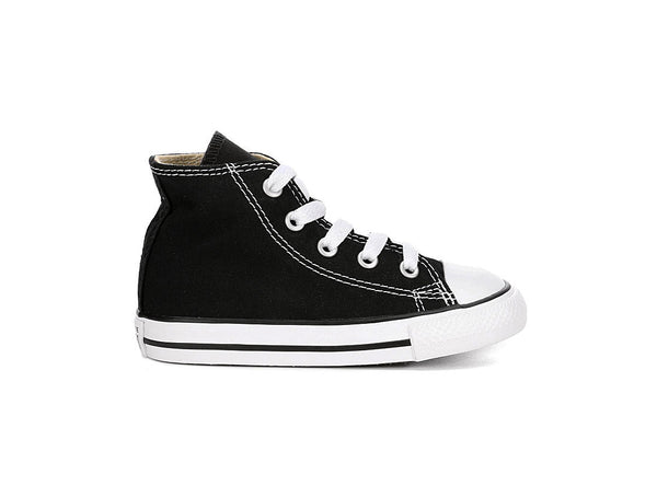 Converse All Star Black/White Hi Top Infant/Toddler Shoes