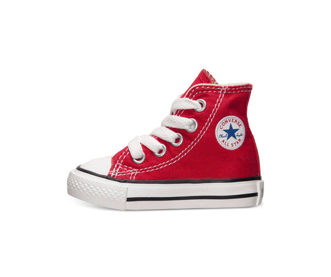 Converse All Star Red Hi Top Infant/Toddler Shoes