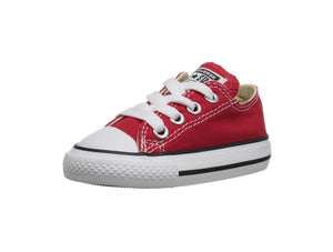 Converse All Star Red Low Top Infant/Toddler Shoes