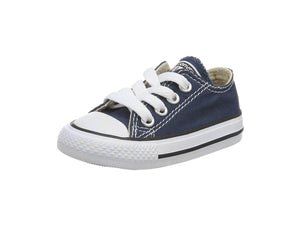 Converse All Star Navy Low Top Infant/Toddler Shoes