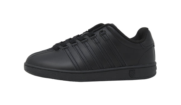 K-Swiss Classic Black/Black Youth Shoes