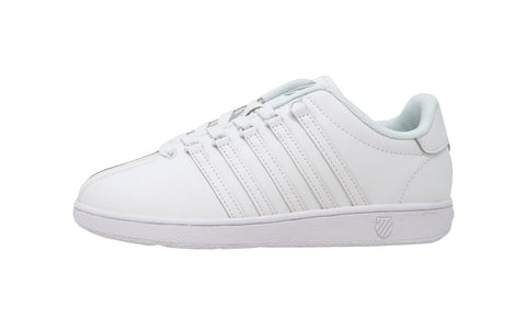 K-Swiss Classic White/White Youth Shoes