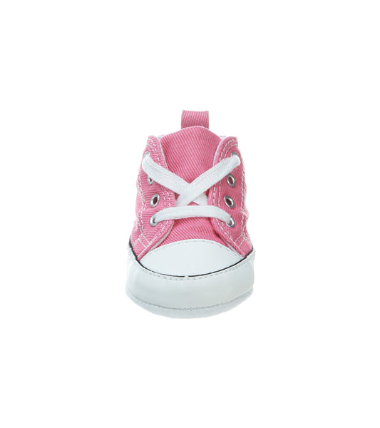 Converse First Star Pink Hi Top Crib/Infant Shoes