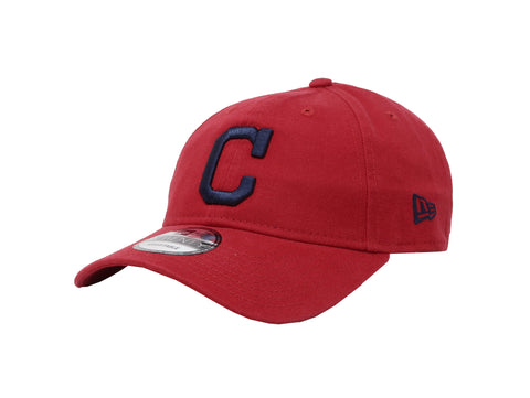 New Era MLB 9Twenty Adjustable Cleveland Indians Red Men Cap
