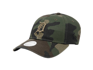 New Era MLB 9Twenty Adjustable Detroit Tigers Camouflage Women Cap